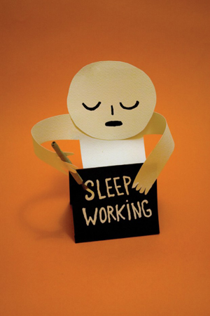 Sleep-working