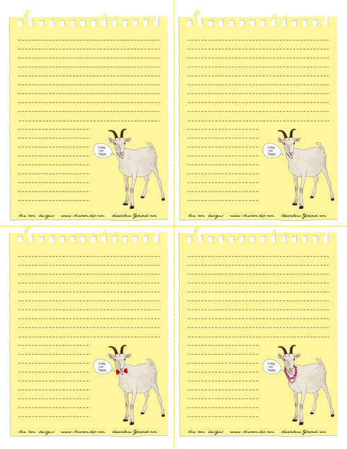 Goatcards