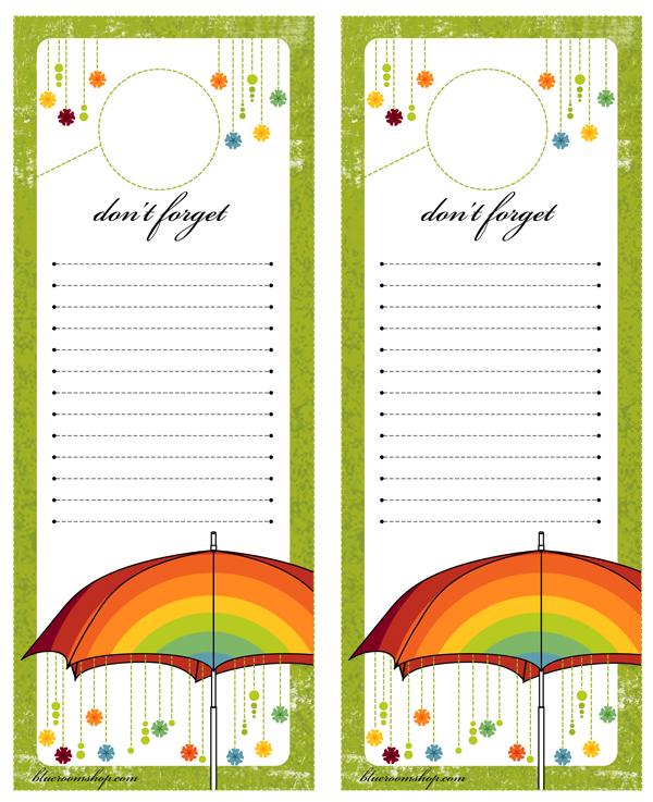Umbrella Lists