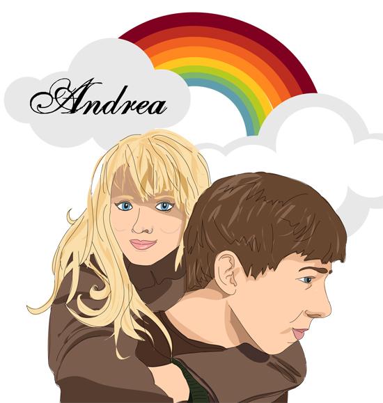 Eli and Andrea Portrait