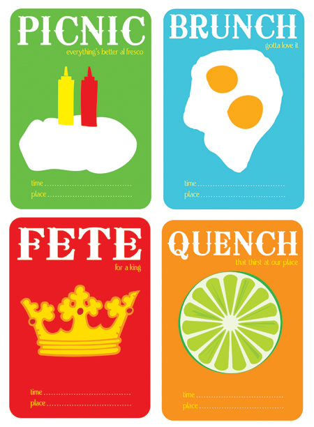 Food Cards